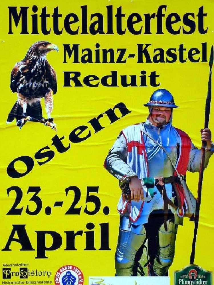 Mittelalter Zeitreise     Osterspektakel Mainz Kastel Mainz Kastel vom 19 04 2014 bis 21 04 2014